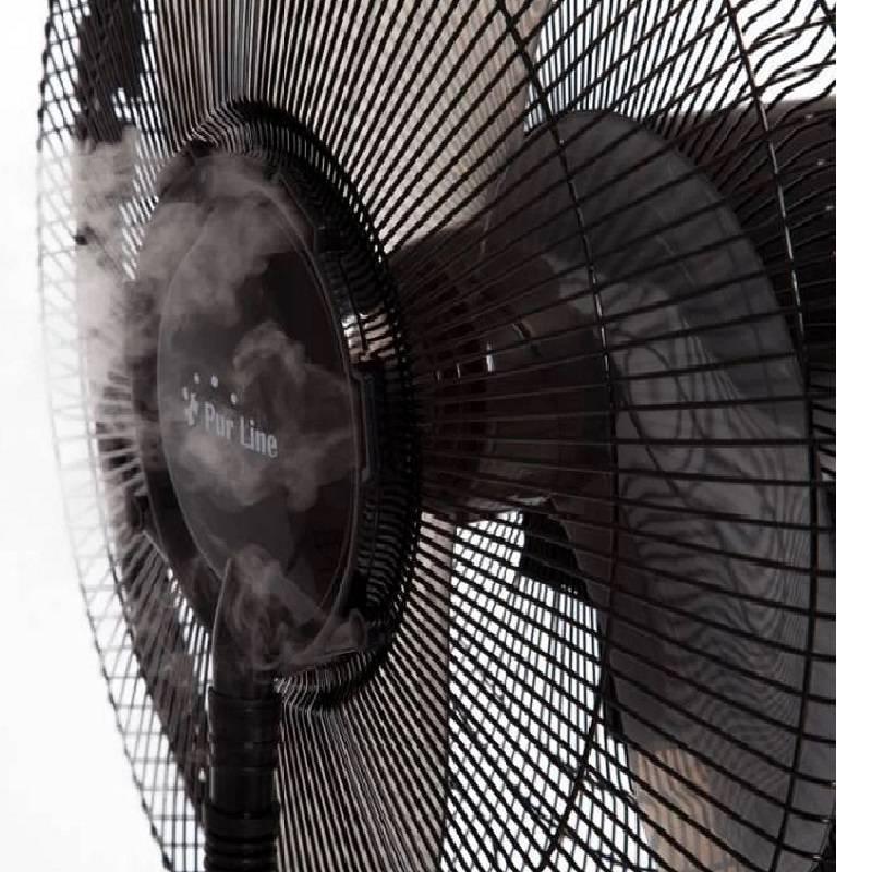 Ventilateur SVAN SVVE16WT sur pied avec nébuliseur d'eau