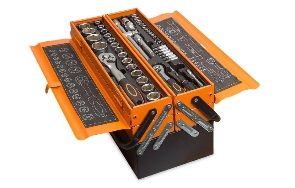 Caixa de ferramentas completa KRAFT com 85 ferramentas profissionais