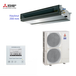 Climatiseur Mitsubishi Electric ensemble gainable PEAD-RP125JAQ + PUHZ-ZRP125YKA