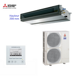 Climatiseur Mitsubishi Electric ensemble gainable SEZ-KD25VAQ + SUZ-KA25VA
