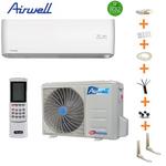 Climatiseur reversible Airwell HRD avec Wifi 3.5 kw