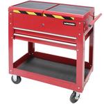 Chariot servante à outils, 370 x 705 x 710 mm 2 tiroirs MADER®