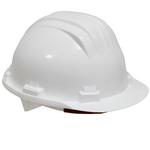 Casque de protection plastique blanc