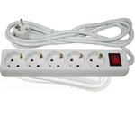 Rallonge électrique avec interrupteur 1,5 mx 1 mm