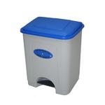 Poubelle avec pédale Bleu 35 litres Leiriplás®