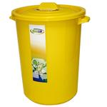 Poubelle jaune 45 litres MADER®