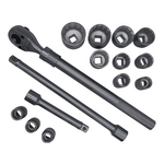Conjunto de chaves de tubo 3/4 '' - Kraft TWorld - linha profissional KT-16PCS