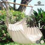 Cadeira Suspensa com Almofada Craftenwood