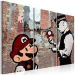 Moldura - Banksy - Aviso