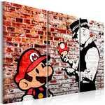 Foto - mural, tijolo