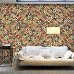 Adesivo XXL - Rainbow Mosaic