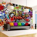 Adesivo - Graffiti colorido