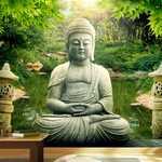 Adesivo - buddha garden